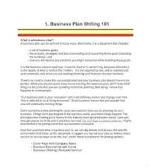 A Simple Business Plan Template Simple Business Plan Template Free Download
