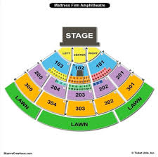 The Brilliant Mattress Firm Amphitheater Seating Chart