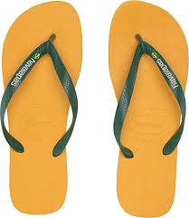 Amazon Com Havaianas Mens Brazil Logo Flip Flops Sandals