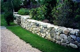 retaining wall even sandstone fieldstone height walls repair