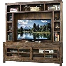 Distressed Wood Entertainment Centers Center Shopping