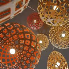 pendant light shade bamboo plywood wood lighting kina