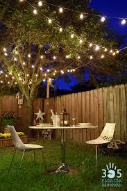 outdoor terrace lighting. Romantic Outdoor Dining Under Bistro Lighting Terrace I