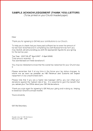 Luxury Acknowledgement Letter Example Mailing Format
