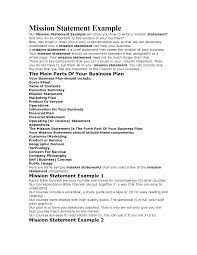 mission statement examples business co mission statement examples business