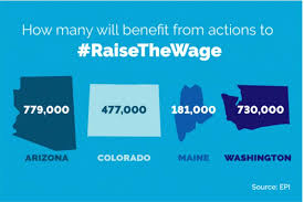 Maine Payroll Calculator States Voted To Raise The Minimum Wage Hr Payroll And
