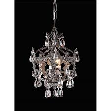 living decorative mini chandelier pendant 19 small crystal light with enchanting pendants and ergonomic in chrome
