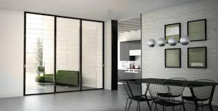 sliding door design glass aluminum dining room