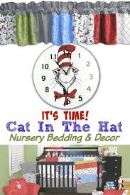 dr seuss the cat in the hat baby nursery decor bedding decor