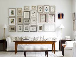 Decorations:Fancy Framed Art Jewelry On Wall Combine With Crystal  Chandelier Astonishing Cool Living Room