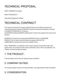 Contractor Proposal Template Business Proposal Templates 100 Free Examples Edit