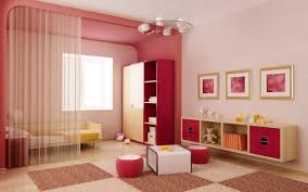Pink And Green Walls In A Bedroom Small Kids Bedroom Interior Ideas Green Unique Wood Tree Wall