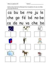 You are not required to register in order to use this site. Spanish Syllable Worksheets Chunking Words By Kory Lacroix Tpt