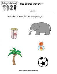 Accounting. kindergarten science worksheets: Kindergarten Kids ...