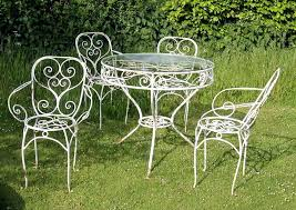 Vintage Metal Outdoor Furniture Old Fashioned Metal Outdoor Chairs