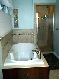 decoration convert bathtub to tub shower combination jetted with into low jacuzzi combos