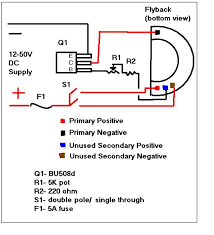 need help flyback transformer project energetic forum i filled the bottom of my transformer silicone to stop the arcing that occures between terminals when you are pushing it hard good luck