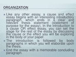 unit cause effect essay <br > 7