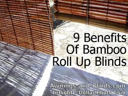 9 benefits of outdoor bamboo roll up shades or bamboo blinds