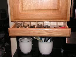 Under cabinet drawer Silverware Storage by WoodenYouLoveThis