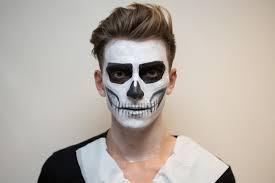 easy scary face paint ideas scary face