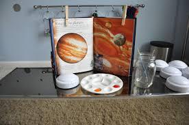 Solar System Bedroom Decor Push Light Planets Activities For Children Paint Play Rainy