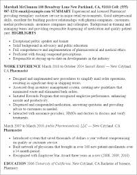 Employee Of The Month On Resume Professional Pharmacist Templates To Showcase Your Talent