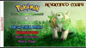 Pokemon Ultra Mega Emerald 2 The Legends of X & Y New GBA ROM, Completed...