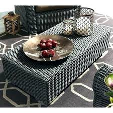wicker coffee table indoor wicker coffee table ottoman wicker ottoman coffee table outdoor wicker coffee table