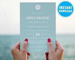 Publicado Open House Invitation Template Corporate Party