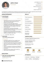 A Sample Of A Good Resume Maggilocustdesignco A Sample Of A Good
