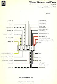 thesamba com type 2 wiring diagrams inside how to wire a fuse box old fuse box help at How To Read Fuse Box