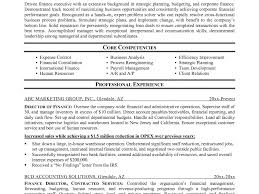 Finance Resume Template. Best Solutions Of Finance Resume Computer ...