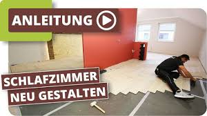 Schlafzimmer Neu Gestalten Boden Und Wände Renovieren Youtube