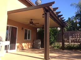 brown aluminum patio covers. Decor Of Patio Covers Cost Interior Alumawood Cover Kits House Design Ideas Brown Aluminum E