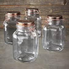 kinetic copper canning jar set 68oz