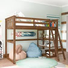 better homes gardens kane twin loft bed multiple finishes at com