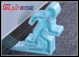 funny design glass door stopper soft