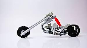 long fork chopper small lego motorbike moc youtube