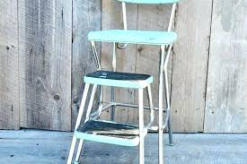 cosco kitchen step stool chair step stool chair aqua step stool chair vintage kitchen stool fold