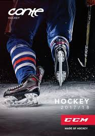 Ez Fit Trigger Shoe Chart Conte Hockey Katalog 2017 18 By Conte Sports Issuu