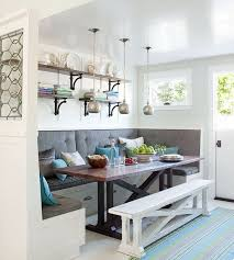 Favorite PINS Friday | Banquette seating, Banquettes and Kitchen booths