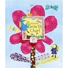 Hot Pink Flower Growth Chart Toy Sense