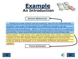 essay example an introduction general statements
