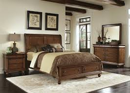 Rustic Traditions Storage Bed 6 Piece Bedroom Set in Rustic Cherry