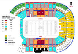 U2 Us Bank Stadium Seating Chart Tcf Bank Seating Chart Best Picture Of Chart Anyimage Org