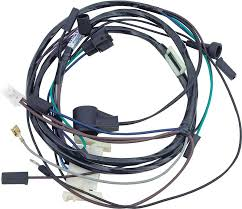 mopar parts electrical and wiring classic industries 1972 mopar b e body 318 w o hei engine wiring harness stock style breaker point ignition