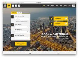 Small Picture 15 Mobile Friendly Car Rental WordPress Themes 2017 Colorlib
