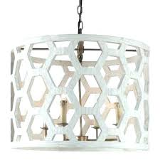 distressed white wood chandelier wooden rustic round iron and wrought chandeliers shades