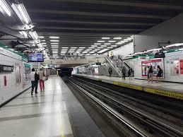 Santa Isabel metro station